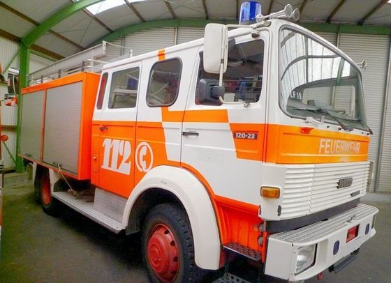 1989 IVECO TLF 16/25 fire