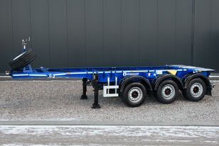 GRUNWALD Tank-container semitrailer container chassis