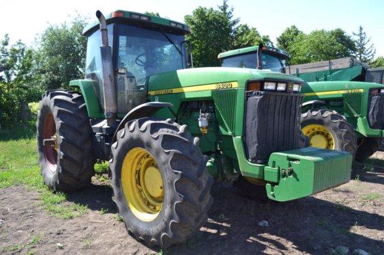 1998 JOHN DEERE 8400 wheel