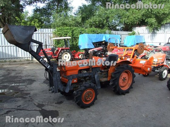 KUBOTA L1501DT mini tractor in