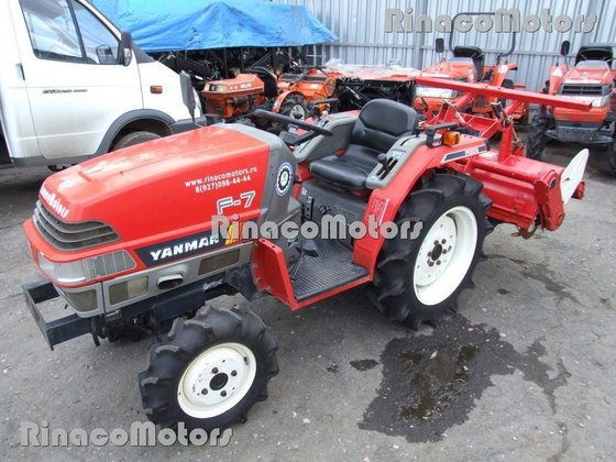 YANMAR F7DT mini tractor in