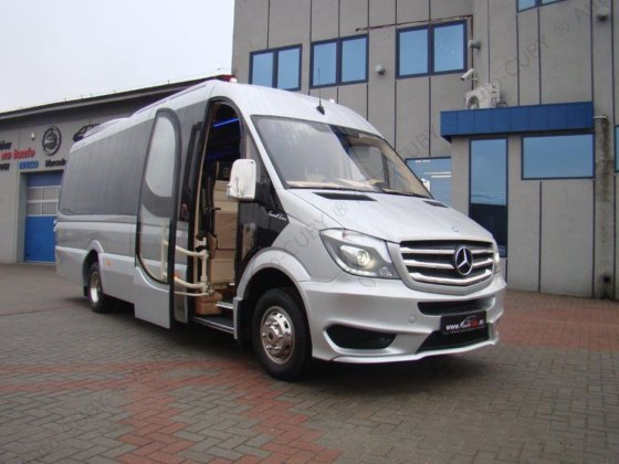 2017 MERCEDES-BENZ Sprinter 519 CUBY
