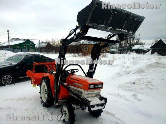 KUBOTA B1600DT mini tractor in
