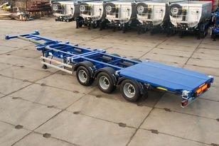 GRUNWALD Versatile low-bed container semitrailer