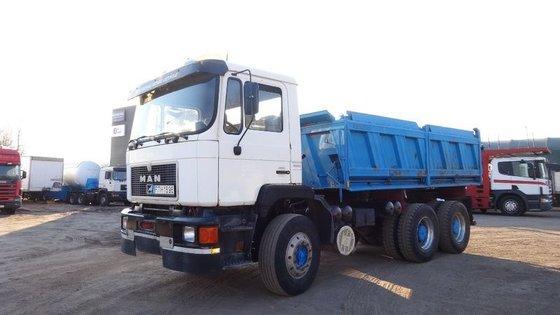 1990 MAN 26.362 dump truck