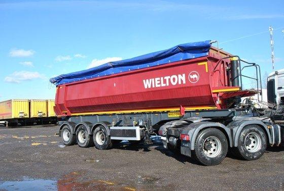 2013 WIELTON NW tipper semi-trailer
