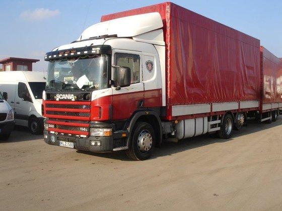 2003 SCANIA 114L.380 tilt truck