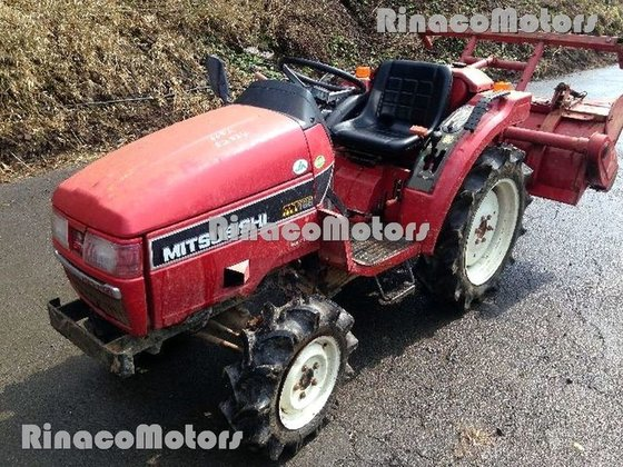 MITSUBISHI MT165DT mini tractor in