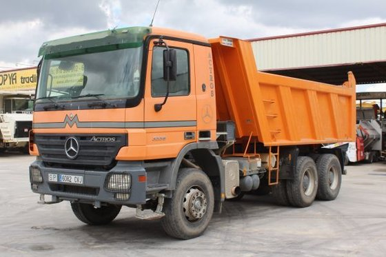 2003 mercedes benz actros 3336 dump truck in sese a spain for Mercedes benz dump truck