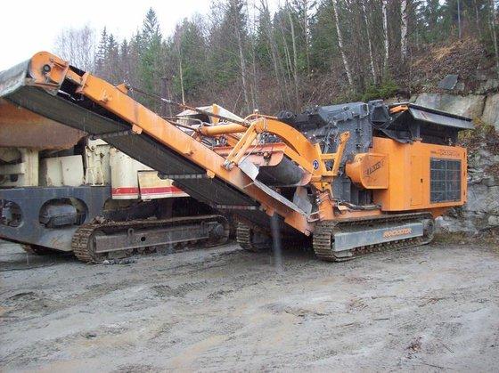 2013 HARTL rockster d1100/1200 crushing