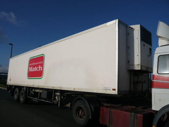 1989 TRAILOR refrigerated semi-trailer in