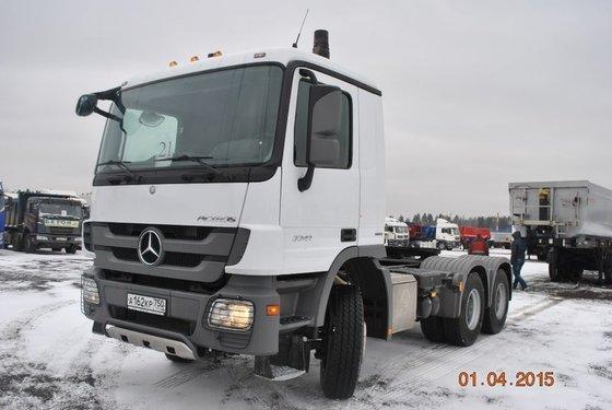 2013 MERCEDES-BENZ Aktros 3341 tractor