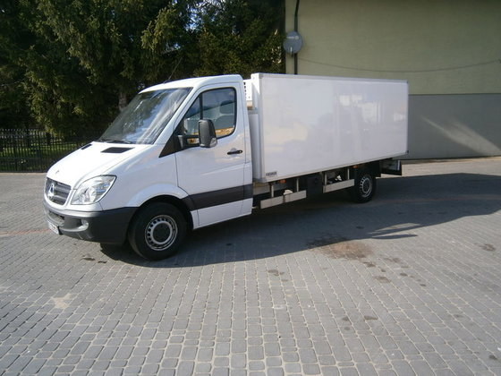2010 MERCEDES-BENZ Sprinter 313 Chłodnia