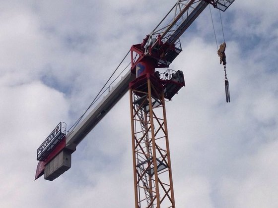 2009 POTAIN MDT178 tower crane