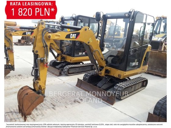 2011 CATERPILLAR 301.8 C mini