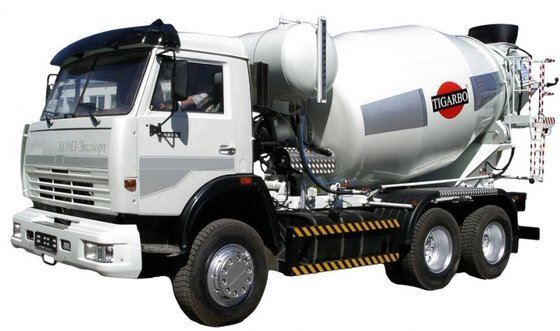 2015 KAMAZ 65115 concrete mixer