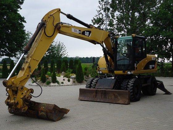2007 CATERPILLAR M313D wheel excavator