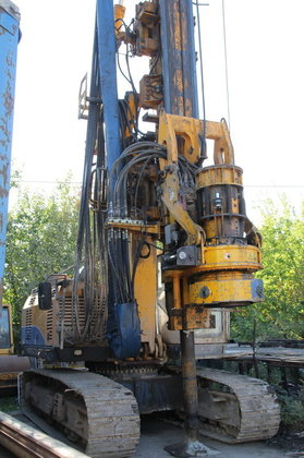 2008 BAUER 20-H drilling rig
