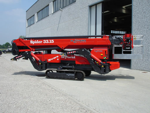 SPIDER 33.15 telescopic boom lift