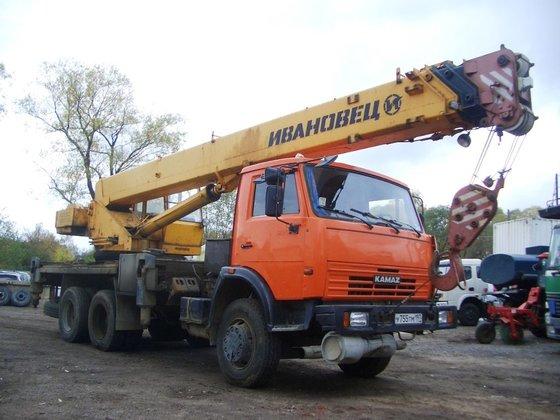2012 KAMAZ -45717K-1 mobile crane
