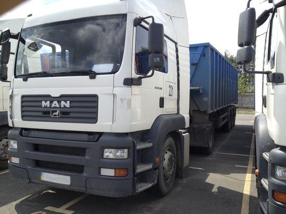 2007 MAN TGA 18.360 tractor