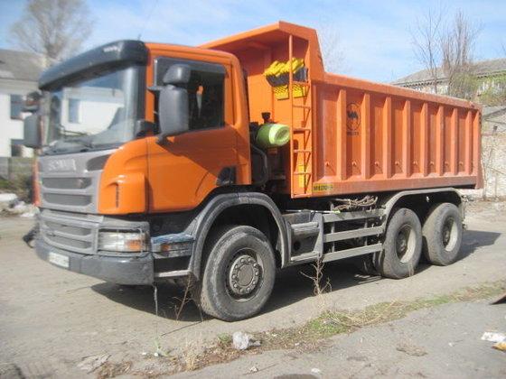 2013 SCANIA P 410 dump