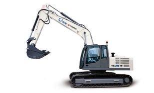 2016 TVEKS TX210LC tracked excavator