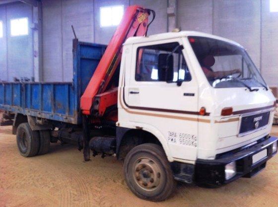 1990 MAN 9.150F dump truck