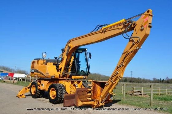 2003 CASE WX150 wheel excavator