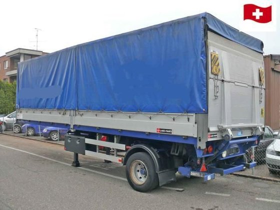 2001 S-SAC tilt semi-trailer in