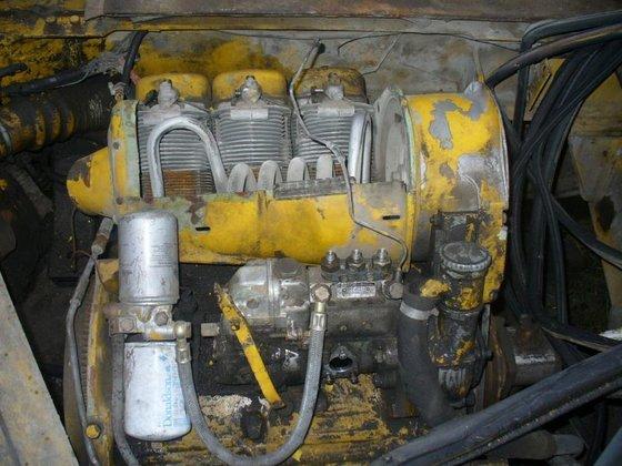 Damaged KRAMER 416 wheel loader