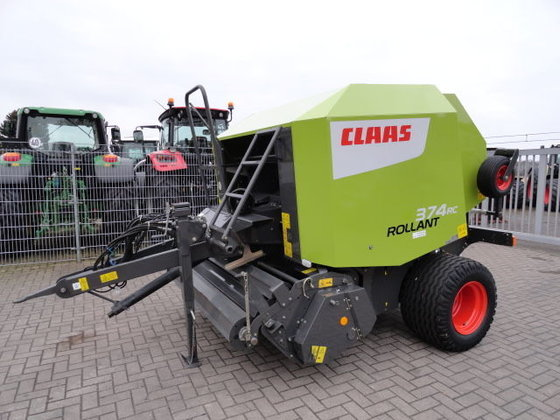 2012 CLAAS Rollant 374 RC