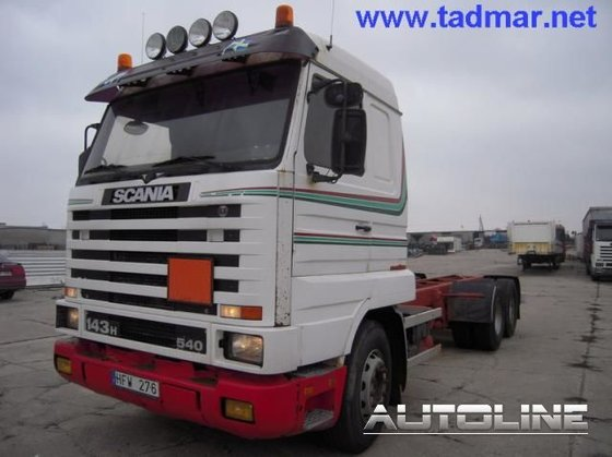 1995 SCANIA 143/450 chassis truck