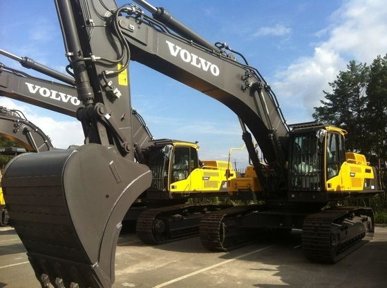 2012 VOLVO EC480D tracked excavator