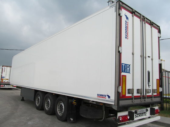 2012 SCHMITZ SKO refrigerated semi-trailer