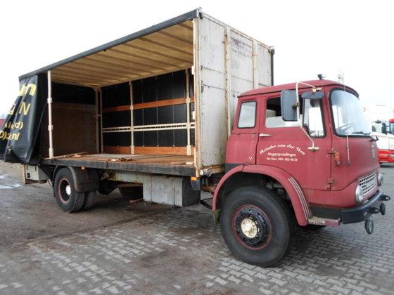 1977 BEDFORD TK 1470 Schuifzeil+laadklep