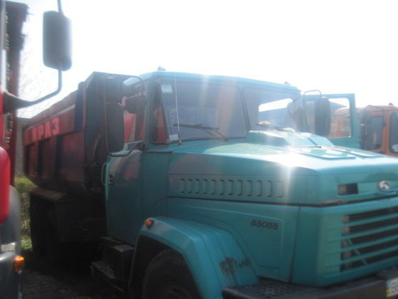 2008 KRAZ 65055 dump truck