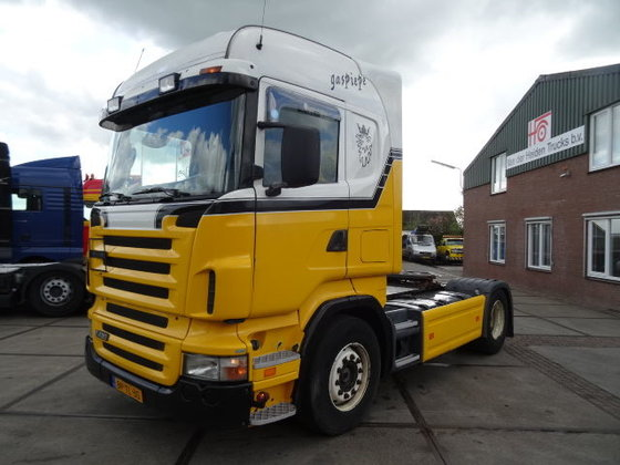 2005 SCANIA R 420 MANUAL/HYDRAULIC
