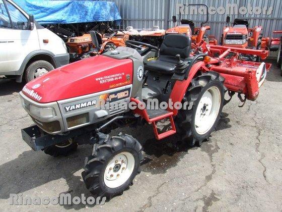 YANMAR F180DT mini tractor in