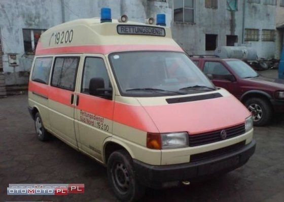 1996 VOLKSWAGEN T4 ambulance in