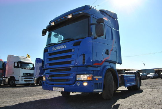 2008 SCANIA R420 tractor unit