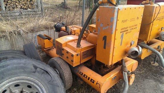 2007 HUDDIG 532/07 motor pump