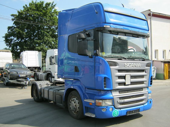 2004 SCANIA R420 tractor unit