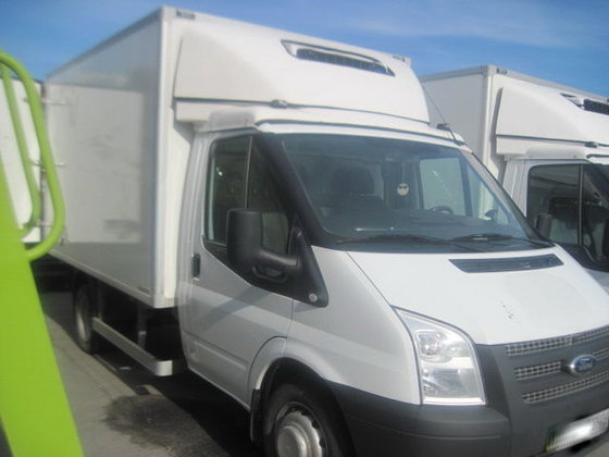 2013 FORD TRANSIT refrigerated truck