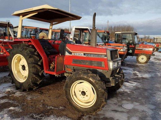 Yanmar Tractor 2 Wheel : Yanmar fx tractors wheel tractor in vilnius lithuania