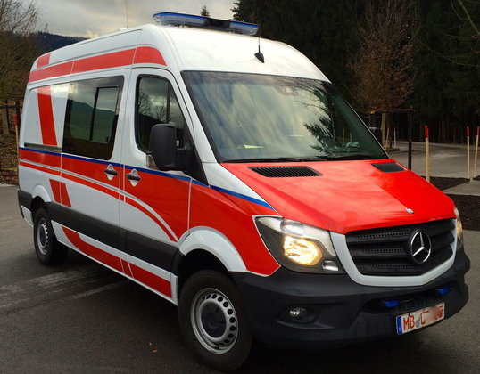 2015 MERCEDES-BENZ Sprinter 324 New