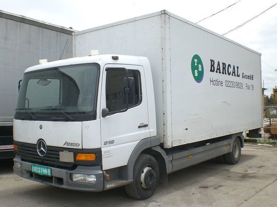 2003 MERCEDES-BENZ 818 ATEGO,LBW closed