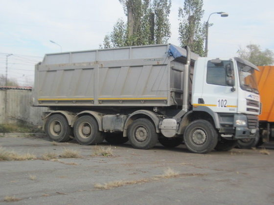 2008 DAF CF 85.410 grain