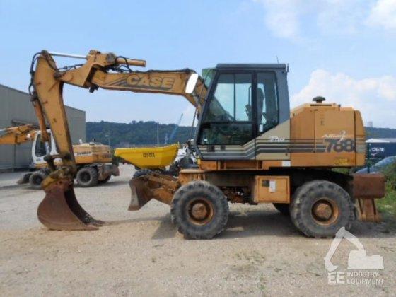 2000 CASE 788-P2A wheel excavator