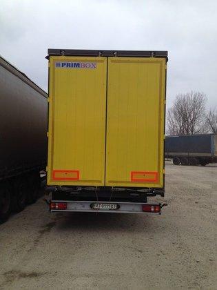2007 ZREMB tilt semi-trailer in